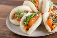 Soft, Airy Chinese Steamed Buns: Simplified