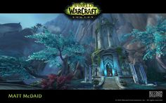 ArtStation - World of Warcraft: Legion, Matt McDaid