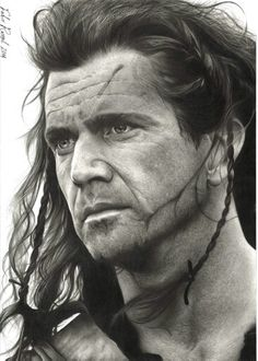 Pencil Portraits - Braveheart/art, Fabio Rangel - Discover The Secrets Of Drawing Realistic Pencil Portraits.Let Me Show You How You Too Can Draw Realistic Pencil Portraits With My Truly Step-by-Step Guide. Portrait Au Crayon, Pencil Portrait Drawing, Realistic Pencil Drawings, Portrait Sketches, Amazing Drawings, Guy Drawing, Drawing People, Portrait Art, Art Drawings