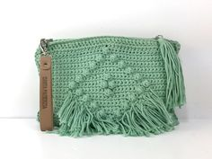 DIY Crochet. Curso online Clutch Rumba. Santa pazienzia