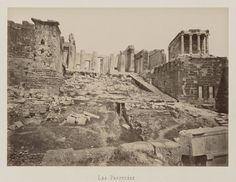Temple, Art Asiatique, Greek History, Parthenon, Europe, Landscape Architecture, Vintage Prints, Archaeology, Paris