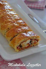 miskokulu lezzetler: Acıkalı Lor Peynirli Rulo Poğaça