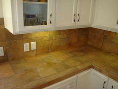 ceramic-tile-kitchen-countertops-classic | kitchen - countertop