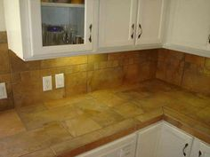 granite tile countertops without grout lines desert