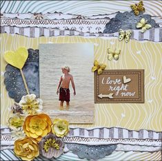 ***Scraps Of Darkness*** I Love right now - Websters Pages - Dream in Color Collection
