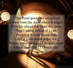 - Bilbo's Travel Song, The Fellowship of the Ring, Book I, A long expected Partyalso sung by Frodo, FotR, Book I, Three is Company