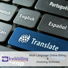 Kwik Billing's #Multilanguage #Billing #Software is the ideal tool for all sizes of businesses that need to create billing the easiest and instant way.  - https://goo.gl/mxVSjO