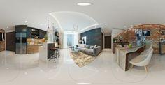10+ Mẫu phối cảnh 3D thiết kế nội thất căn hộ chung cư từ 70m2 đến 79m2