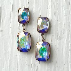 Hey, I found this really awesome Etsy listing at https://www.etsy.com/listing/180465073/aurora-borealis-swarovski-earrings