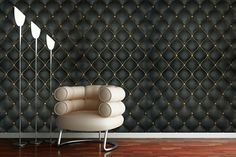 Buy abstract wallpaper pattern and retro wallpaper for modern home interiors using easily removable wallpaper. Black Wallpaper For Walls, Black Textured Wallpaper, Bright Wallpaper, Damask Wallpaper, Green Wallpaper, Retro Wallpaper, Modern Wallpaper, Home Wallpaper, Custom Wallpaper