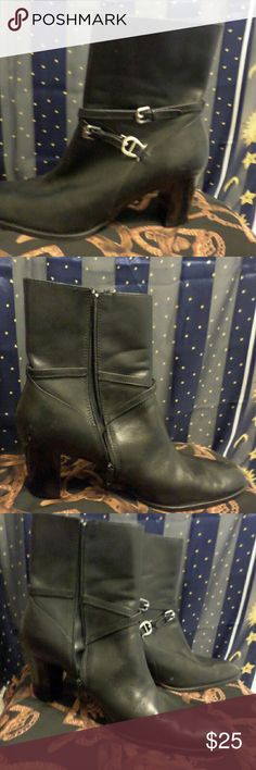 Women's Etienne Aigner boots Worn for 2 hours only these boots are like New the sole has no wear at all. The make is called Kailey. I love Etienne stuff and have a lot of it because they use an A as their insignia. Etienne Aigner Shoes Ankle Boots & Booties