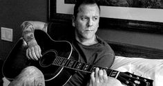 Kiefer Sutherland Announces Debut Album and U.S. Tour -- '24' Star Kiefer Sutherland is ready to set off on a 26-City tour starting April 14 to promote is folk-tinged album 'Down a Hole'. -- http://movieweb.com/kiefer-sutherland-down-a-hole-album-tour/