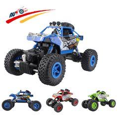 RC Auto 2,4G 4CH 4WD Rock Crawler 4x4 Fahren Auto Doppel motoren Stick Bigfoot Auto Fernbedienung Auto Modell Geländewagen Spielzeug