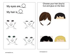 MY BODY -  Emma's Place My Eyes, Your Hair, Comics, Face, The Face, Cartoons, Faces, Comic, Comics And Cartoons