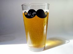 I'd get the giggles drinking out of this glass