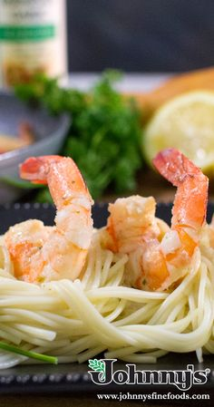 Are you thinking seafood tonight? Sink your teeth into some delicious Shrimp Scampi. Skillet Bread, Artichoke Dip, Scampi, Bread Rolls, Teeth, Shrimp, Seafood, Sink, Ethnic Recipes
