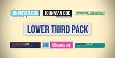 Lower Third Pack