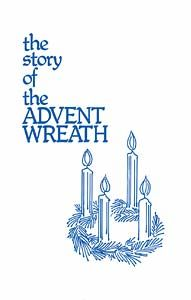 The Advent wreath is