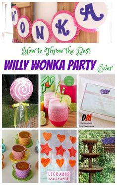 Love Charlie and the Chocolate Factory? Celebrate your love of literature with this Willy Wonka party! Willy Wonka party ideas are perfect for everyone. May Birthday, Golden Birthday, 4th Birthday Parties, Birthday Ideas, Wonka Chocolate Factory, Charlie Chocolate Factory, Chocolate Party, Willy Wonka, Holiday Parties