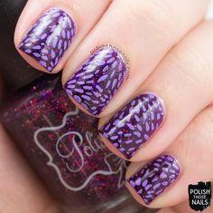 Polish Those Nails: The Nail Challenge Collaborative - Purple #1