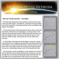 Mormon Media Network -- Temple Symbols, The Big Dipper ...// Photos by: Energy Media Works LLC