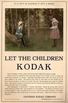 Let the Children Kodak 1910
