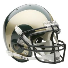 ab627055863 Colorado State Rams College Football Helmets