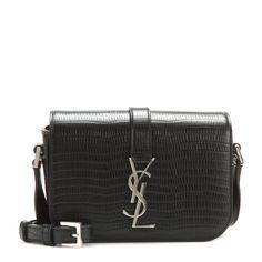 Saint Laurent - Monogram Université leather shoulder bag - Saint Laurent s   Monogram Université  is 1bf395cf33427