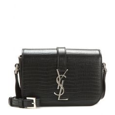 Monogram Université Leather Shoulder Bag ◊ Saint Laurent ♦ mytheresa