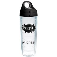 Best Man Personalized Tervis Water Bottle