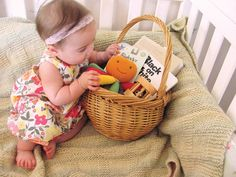 welcome baby gift basket