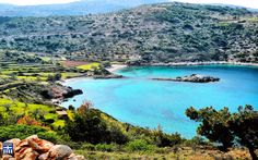 Didyma beach.Chios island Didyma (= the Twins) is located on the road from Limenas Meston to Elata, about 5 Km. from Mesta. It consists of two beaches that look very much alike with small white pebbles and green-blue crystal waters.