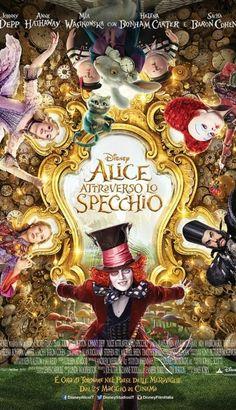 ALICE ATTRAVERSO LO SPECCHIO STREAMING FILM ITA 2016 HD