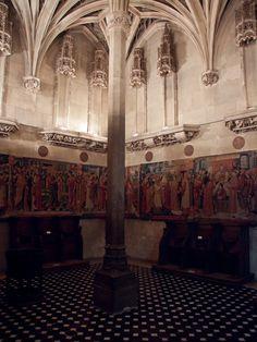 Tucked away chapel inside Musée de Cluny, Paris.