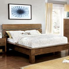Roraima Reclaimed Pine Finish 6-Piece Bedroom Set