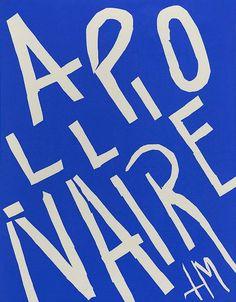 """Henri Matisse — """"Apollinaire"""" — 1952"""