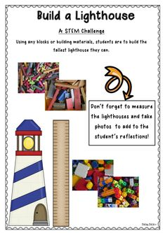 The Lighthouse Keeper's Lunch Stem Projects, Science Projects, Projects For Kids, Ks2 Classroom, Classroom Themes, Lighthouse Keepers Lunch, Pie Corbett, Boggle Board, Procedural Writing