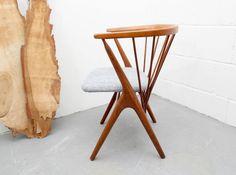 HELGE SIBAST, Spindle back chair Stuhl, Teak, No.8 von silent-cube auf DaWanda.com