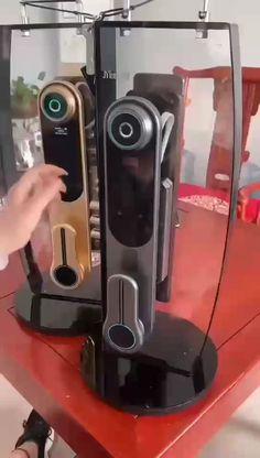 Best smart lock for a keyless home Wooden Door Design, Wooden Doors, Dream House Plans, House Floor Plans, Smart Home Locks, Home Gadgets, Cooking Gadgets, Keyless Locks, Smart Home Technology