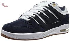 DVS Skateboard Shoes TYCHO NAVY/WHITE/GUM Sz 8 - Chaussures dvs apparel (*Partner-Link)