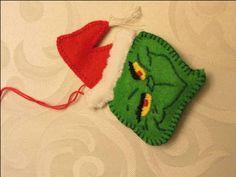 The Grinch felt ornament