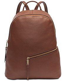 e30187d6fe Calvin Klein Dali Pebble Leather Backpack & Reviews - Handbags &  Accessories - Macy's