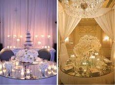 Mirrored wedding table ideas
