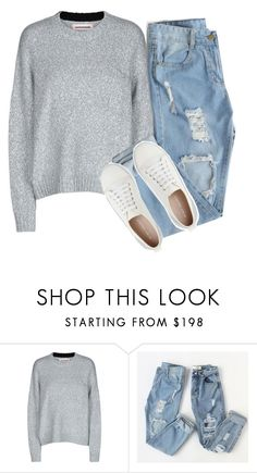 """""""❤College Outfit❤"""" by puddingis ❤ liked on Polyvore featuring interior, interiors, interior design, home, home decor, interior decorating, Custommade and Mint Velvet"""
