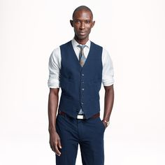 Very cool look. 3 piece suit it seems with a different (color ...
