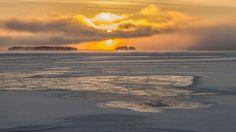 Kallavesi savuaa, 4.12.2016 | Photo: Ensi Hytönen