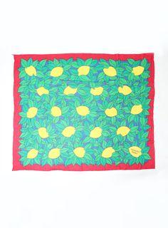 Lemon Print Pareo Scarf Fashion Textiles, Lemon Print, Hermes, Kids Rugs, Decor, Decoration, Kid Friendly Rugs, Decorating, Nursery Rugs
