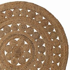 round jute rugs from Serena and Lily