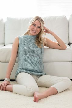 Ravelry: Estuary Tank pattern by Amy Christoffers