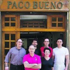 Paco Bueno San Sebastian Spain | Bar Paco Bueno en San Sebastián